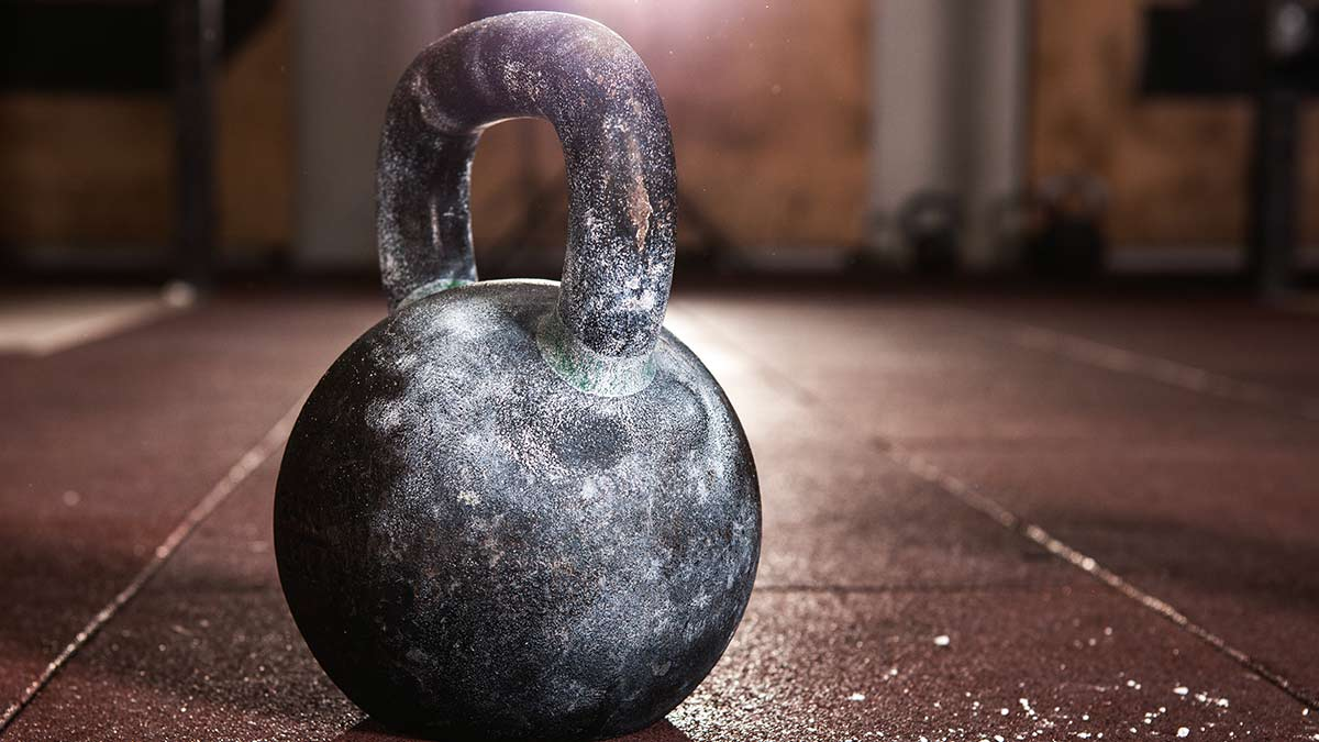 VO2 max kettlebell workout