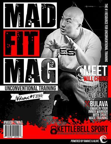 ORIGINALLY PUBLISHED IN MAD FIT MAGAZINE