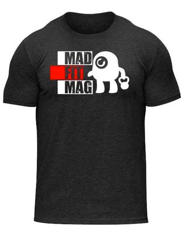 Mad Fit Magazine Workout T-Shirt